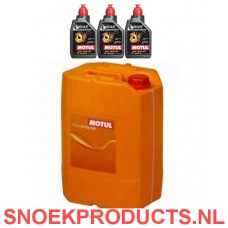 Motul Gear Competition 75W140 - 20 Liter + Gratis 3 Losse liters