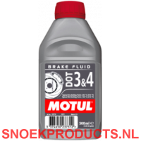 Motul DOT 3 en 4 Brake Fluid - 0,5 Liter