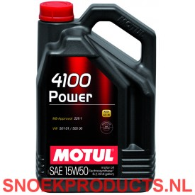 Motul 4100 Power 15W50 - 5 Liter