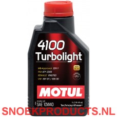 Motul 4100 Turbolight 10W40 - 1 Liter