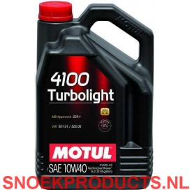 Motul 4100 Turbolight 10W40 - 5 Liter