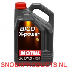 Motul 8100 X-power 10W60 - 5 Liter