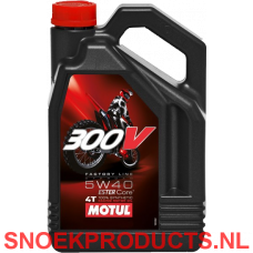 Motul 300V 4T Factory Line Off Road 5W40 - 4 Liter