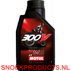 Motul 300V 4T Factory Line Off Road 5W40 - 1 Liter