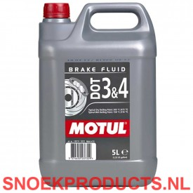 Motul DOT 3 en 4 Brake Fluid - 5 Liter